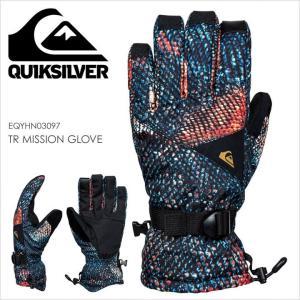QUICKSILVER スノーグローブ メンズ TR MISSION GLOVE EQYHN03097 17-18 マルチカラー S/M/L|3direct