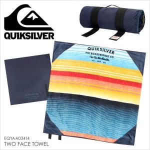 タオル メンズ QUICKSILVER TWO FACE TOWEL - EQYAA03414 クイックシルバー ビーチマット サーフタオル|3direct