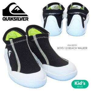 QUICKSILVER マリンシューズ キッズ BOYS 1.0 BEACH WALKER KSA182751 2018夏 ブラック 16cm/18cm/20cm/22cm|3direct