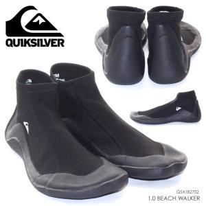 QUICKSILVER マリンシューズ メンズ 1.0 BEACH WALKER - QSA182752 2018夏 ブラック 26cm/27cm/28cm|3direct