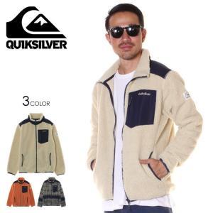 QUIKSILVER クイックシルバー ジャケット メンズ CLASSIC BOA JKT 2019秋冬 ネイビー/サンド/オレンジ M/L/XL|3direct