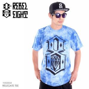 REBEL8 Tシャツ メンズ RELEGATE TEE 110020024 2018夏 ブルー M/L|3direct