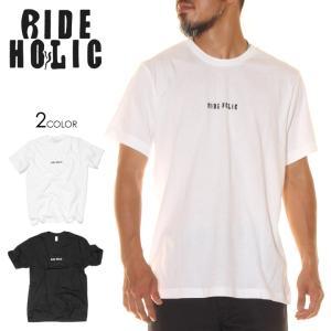 RIDE HOLIC ライド ホリック Tシャツ メンズ LOGO TEE ALTERNATIVE|3direct