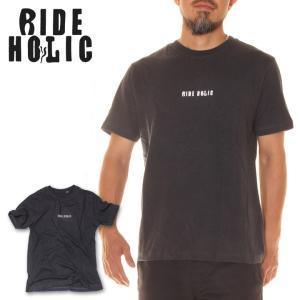 RIDE HOLIC ライド ホリック Tシャツ メンズ LOGO TEE HEMP|3direct