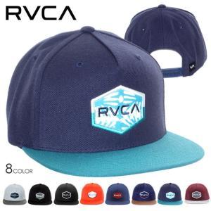 RVCA キャップ メンズ COMMONWEALTH III SNAPBACK 2018春 AH042-903 AI041-911 ブラック/グレー/ネイビー/バーガンディー/オレンジ ワンサイズ|3direct