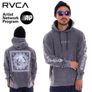 RVCA ルーカ パーカー メンズ ELEVATION HOOD AI042-013 2018秋冬 ブラック S/M/L|3direct