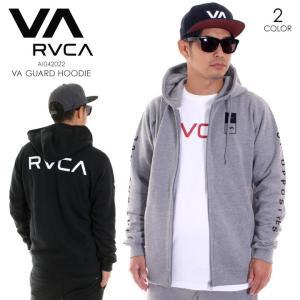RVCA ルーカ メンズ パーカー VA GUARD HOODIE AI042022 AI042-022 2018秋冬 ブラック/グレー S/M/L/XL|3direct