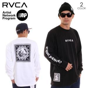 RVCA ルーカ ロンT メンズ DETENTION LS AI042-054 AI042054 2018秋冬 ブラック/ホワイト S/M/L|3direct