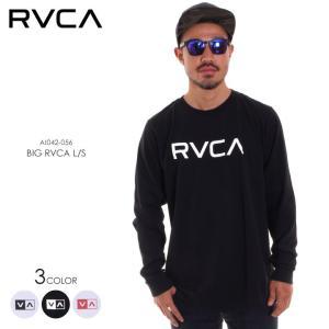 RVCA ルーカ ロンT メンズ BIG RVCA LS AI042-056 2018秋冬 ホワイト/ブラック S/M/L/XL|3direct