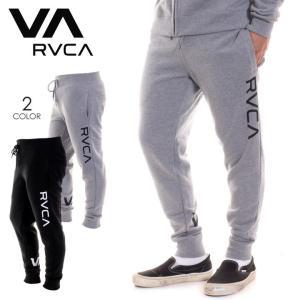 RVCA ルーカ メンズ スウェットパンツ VA GUARD FLEECE SWEAT PANT AI042724 AI042-724 2018秋冬 ブラック/グレー S/M/L/XL|3direct