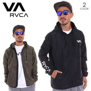 RVCA ルーカ アウター メンズ AXE PACKABLE AI042-751 2018秋冬 ブラック/グリーン S/M/L/XL|3direct