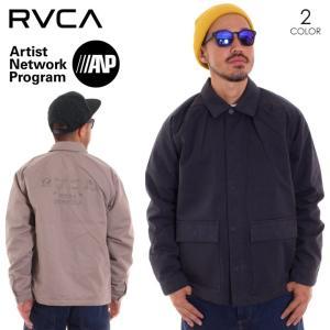RVCA ルーカ アウター メンズ COACH OF THE YEAR AI042-754 2018秋冬 ブラック/ベージュ S/M/L|3direct