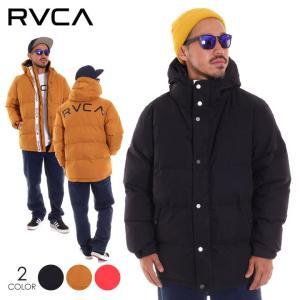 RVCA ルーカ アウター メンズ RVCA PUFFA JACKET AI042-760 2018秋冬 ブラック/ブラウン/レッド S/M/L|3direct