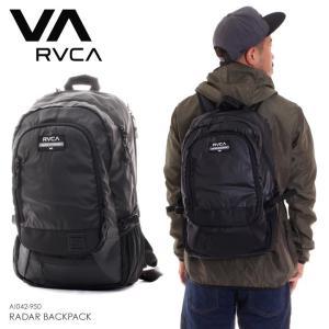 RVCA ルーカ リュック メンズ RADAR BACKPACK AI042-950 2018秋冬 ブラック 21L|3direct