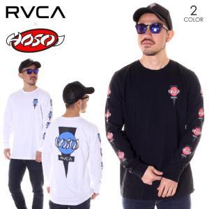 SALE セール RVCA ルーカ ロンT メンズ HOSOI LS AJ041-056|3direct