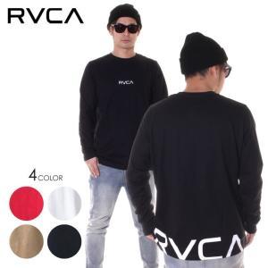 RVCA ルーカ ロンT メンズ BACK RVCA L/S AJ041-061|3direct