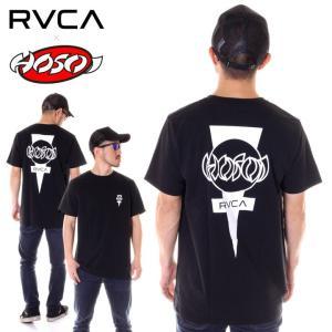 RVCA ルーカ Tシャツ メンズ HOSOI DAYSHIFT AJ041-208|3direct