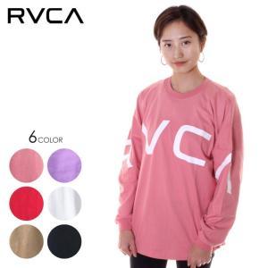 RVCA ルーカ ロンT レディース FAKE RVCA L/S AJ043-063|3direct