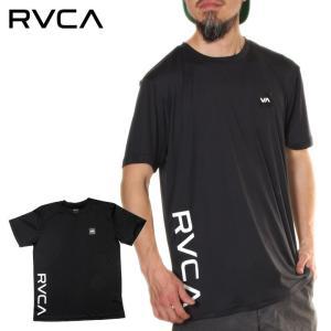 RVCA ラッシュガード メンズ POSITION TEE AI041-221 2018春 ブラック/ホワイト S/M/L/XL|3direct