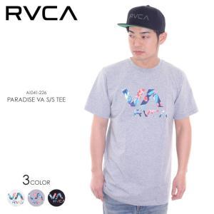 RVCA Tシャツ メンズ PARADISE VA AI041-226 2018春 ブラック/ホワイト/グレー S/M/L|3direct