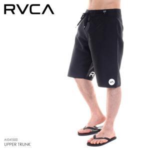 RVCA サーフパンツ メンズ UPPER TRUNK AI041-500 2018春 ブラック 28/30/32/34 3direct