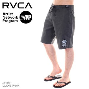 RVCA サーフパンツ メンズ DMOTE TRUNK AI041-505 2018春 グレー 28/30/32/34|3direct