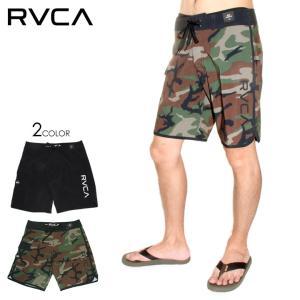 RVCA サーフパンツ メンズ EASTERN TRUNK AI041512 AI041522 2018春夏 レッド/ブルー/グリーン/ピンク/ホワイト 28/30/32/34|3direct