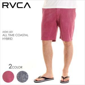 RVCA サーフパンツ メンズ ALL TIME COASTAL HYBRID AI041601 AI041-601 2018年春夏 レッド/ブラック 28/30/32/34|3direct