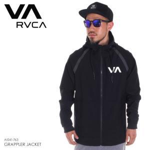 RVCA ウィンドブレーカー メンズ GRAPPLER JACKET AI041-763 2018年春夏 ブラック M/L|3direct