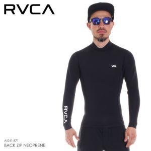 RVCA タッパー メンズ BACK ZIP NEOPRENE AI041-871 2018春夏 ブラック S/M/L|3direct