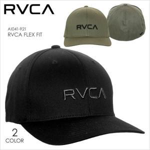 RVCA キャップ メンズ RVCA FLEX FIT AI041921 AI041-921 2018春夏 ブラック/カーキグリーン ワンサイズ 3direct