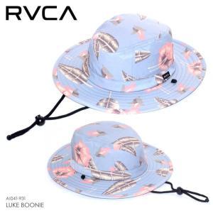 RVCA ハット メンズ LUKE BOONIE AI041-931 2018春 ブルー ワンサイズ|3direct