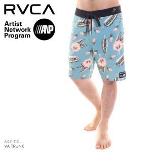 RVCA サーフパンツ メンズ VA TRUNK - AI041-513 2018春夏 ブルー 28/30/32|3direct