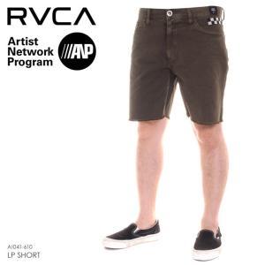 RVCA ハーフパンツ メンズ LP SHORT AI041-610 2018春夏 グリーン 28/30/32|3direct