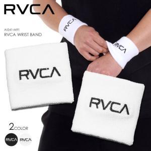 RVCA リストバンド メンズ RVCA WRIST BAND AI041-M91 2018春 ブラック/ホワイト ワンサイズ|3direct