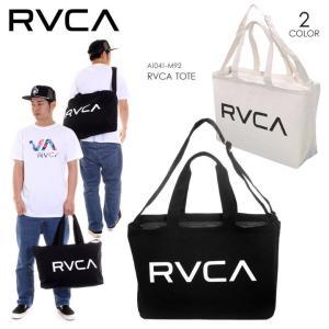 RVCA トートバッグ メンズ RVCA TOTE AI041-M92 2018春夏 ブラック/ホワイト ワンサイズ|3direct