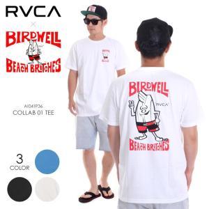 RVCA x BIRDWELL Tシャツ メンズ COLLAB 01 TEE AI041-P36 2018夏 S/M/L|3direct