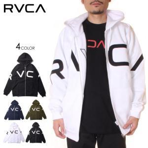 RVCA ルーカ パーカー メンズ FAKE RVCA ZIP HOODIE 2020秋冬|3direct