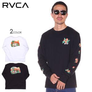 SALE セール RVCA ルーカ ロンT メンズ JUNGLE LS 2019秋冬|3direct