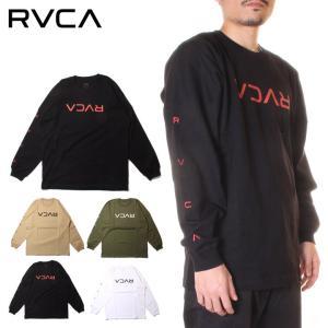 RVCA ルーカ Tシャツ ロンT メンズ FLIP RVCA LS 2020秋冬|3direct