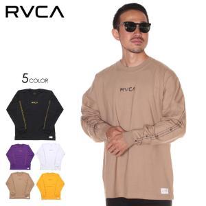 SALE セール RVCA ルーカ Tシャツ ロンT メンズ INT HAZ LS TEE 2019秋冬|3direct