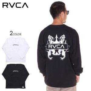 SALE セール RVCA ルーカ Tシャツ ロンT メンズ CREST LS TEE 2019秋冬|3direct