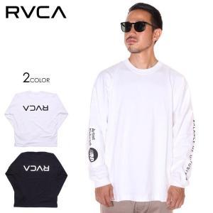 SALE セール RVCA ルーカ Tシャツ ロンT メンズ PATCH RVCA LS TEE 2019秋冬|3direct