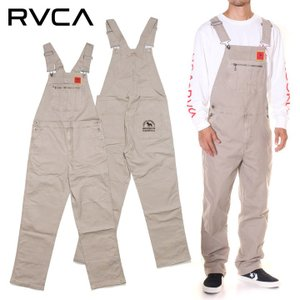 SALE セール RVCA ルーカ オーバーオール メンズ SMITH STREET OVERALL|3direct