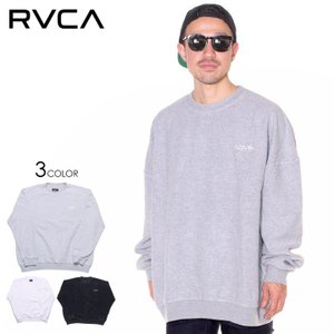 SALE セール RVCA ルーカ トレーナー メンズ IN SIDE OUT OVERSIZED CREW 2019秋冬|3direct