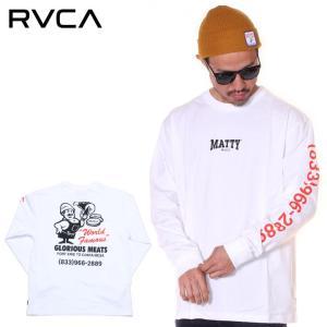 SALE セール RVCA ルーカ Tシャツ ロンT メンズ MATTYS LS 2019秋冬|3direct