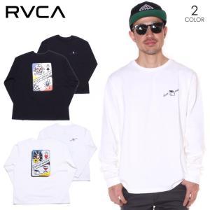 SALE セール RVCA ルーカ Tシャツ ロンT メンズ SMITH STREET LT 2019秋冬|3direct