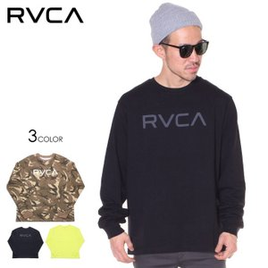 SALE セール RVCA ルーカ Tシャツ ロンT メンズ BIG RVCA LS TEE 2019秋冬|3direct