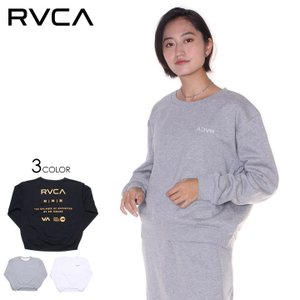 RVCA ルーカ トレーナー レディース IN SIDE OUT OVERSIZED TAIL CREW 2019秋冬 3direct