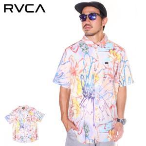 SALE セール RVCA ルーカ シャツ メンズ VAUGHN FLORAL SS 2019年春夏|3direct